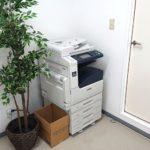 塾生はカラーコピー機も自由に使うことができます。